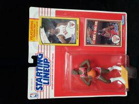 1990 NBA Kenner Starting Lineup Michael Jordan