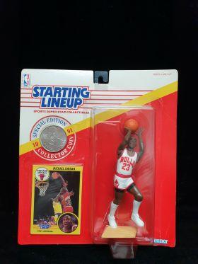 1991 NBA Kenner Starting Lineup Michael Jordan